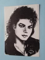 MICHAEL JACKSON ( Sticker > Zelfklever ) Anno 19?? ( Voir / See Photo ) Format PK / CP ! - Foto