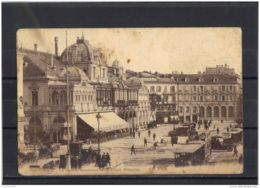 06254 . NICE . LE CASINO MUNICIPAL ET LA PLACE MASSENA  . CIRCULEE . 1915 - Cafés, Hotels, Restaurants