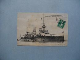 "Cuirassé  D'Escadre  -  Le "" GAULOIS ""  -   1909 - Guerra"