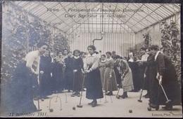 BELGIQUE BELGIE Cpa Postcard - VIRTON 1911 Pensionnat - Cours Supérieur En Récréation - Virton