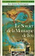 Rare Livre De Jeu Un Livre Dont Vous êtes Le Sorcier De La Montagne De Feu Collection Défis Fantastiques 1995 - Jeux De Société