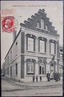 BELGIQUE BELGIE Cpa Postcard - ERQUELINNES - 1910 Bureau De Poste - Erquelinnes