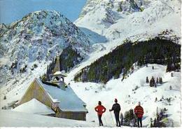73 Pralognan La Vanoise La Chapelle Des Granges Skieurs En 1966 VOIR DOS édit Jansol Chambéry - Pralognan-la-Vanoise