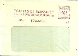 Lettre  EMA  Havas CG 1962 Glaces De Boussois Sur Sambre Usine Metier  Verrerie  59 Boussois  C21/32 - Unclassified
