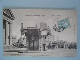 Saint Germain En Laye - Place Du Château - St. Germain En Laye
