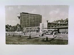 Koblenz A. Rhein, Hauptpostamt, Autos, Bus, AK, Ungelaufen, Ca. 1955 - Allemagne