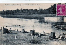 45 - CHATILLON Sur LOIRE - La Plage ANIMATION - Chatillon Sur Loire