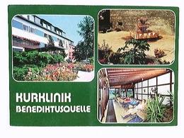Ortenberg Hess., Kurklinik Benediktusquelle, Mehrbild-AK, Gelaufen 1990 - Allemagne