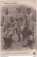 CROQUIS DE GUERRE SEPTEMBRE 1914 GROUPE DE TIRAILLEURS MAROCAINS TBE - Guerre 1914-18