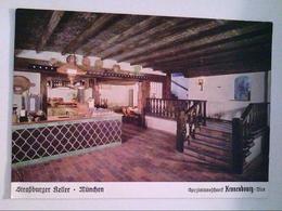 Straßburger Keller . München. , Ansichtskarte - Hotels & Restaurants