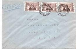 ESPRESSO CON 3 X £25 MARCO POLO - 1946-60: Marcophilie