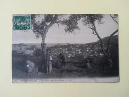 Philippeville Panorama Entre Les Oliviers - Algeria