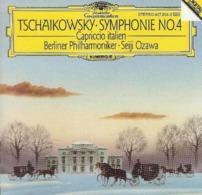 Tchaïkovski : Symphonie N°4 - Cappriccio Italien - Berliner Philharmoniker - Seiji Ozawa (CD Deutsche Gramophone) - Classique