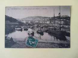 Philippeville Le Port Vue Prise De La Marine - Algérie