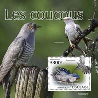 2020-04- TOGO -  CUCKOOS  BIRDS            1V      MNH** - Cuckoos & Turacos