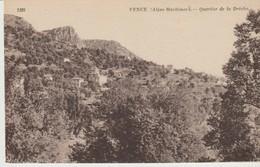 C. P. -  VENCE - QUARTIER DE LA DRECHE - 1329 - NEURDEIN - Vence