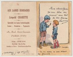 CALENDRIER PUBLICITAIRE ILLUSTRE 1930 (7.5 X5 Cm) - ILLUSTRATION POULBOT - Calendriers