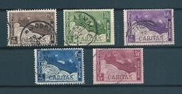 [2068] Zegels 249 - 253 Gestempeld - Belgique