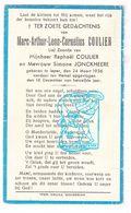 DP Marc Arthur Leon C. Coulier / Jonckheere - Ieper 1936 - Devotion Images