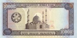 Turkmenistan P.11 10000  Manat 1998 Unc - Turkmenistan