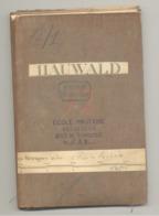 Carte De Géographie Toilée - HAUWALD -1893 - Levée En 1869 - LUXEMBOURG  (b271) - Cartes Géographiques