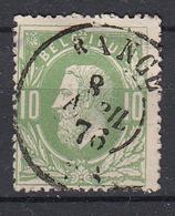 BELGIË - OBP - 1869/83 - Nr 30 - DCa (RANCE) - Coba + 8 € - 1869-1883 Leopold II