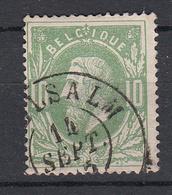 BELGIË - OBP - 1869/83 - Nr 30 - DCa (VIELSALM) - Coba + 8 € - 1869-1883 Leopold II