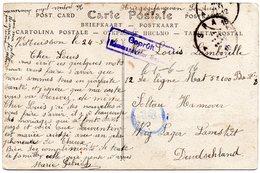 CV Expédiée De Spa Vers Un Prisonnier Du Camp De Soltau (Allemagne) - WW I