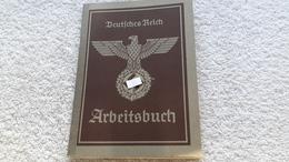 Arbeitsbuch Deutsches Reich Verden Ausweis 1940 - Documents