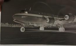 Photo Négatif Douglas DC8 SABENA Circa 1955 Aviation Vliegtuig Avion - Aviation