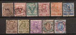 (Fb).Regno.V.E.III.1901.Serie Floreale Usata Completa (19-19) - 1900-44 Victor Emmanuel III.