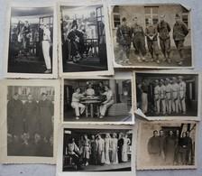 Photox13 STALAG VIIIA  Belgian Prisonner Of War POW ABL Görlitz Armée Belge Belgische Leger Militaria WW2 - Guerre, Militaire