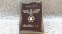 Arbeitsbuch Deutsches Reich Nienburg Ausweis 1942 - Documents