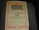 """Bon De Caisse""""Société Belge D'armement Maritime """" Marine  Navigation,arme.Anvers Antwerpen 1919. - Navigation"""