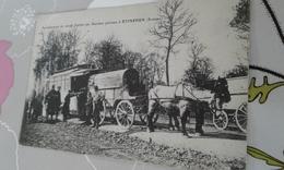 Cpa Rare Etinehen Autobus  Parisien - Autres Communes
