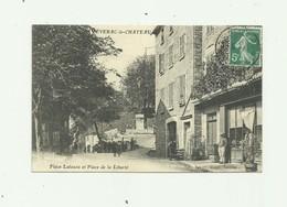 12 - SEVERAC LE CHATEAU - Place Latazou Et Place De La Liberté Animé Bon état - Frankreich