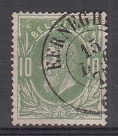 BELGIË - OBP - 1869/83 - Nr 30 - DCa (EERNEGHEM) - Coba + 15 € - 1869-1883 Leopold II