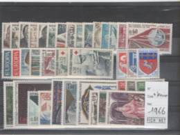 FRANCE ANNEE COMPLETE 1966 XX MNH Neufs - - Francia