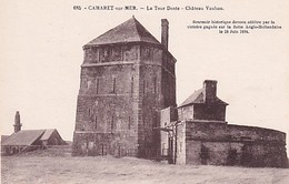 CAMARET SUR MER        LA TOUR DOREE. CHATEAU VAUBAN - Camaret-sur-Mer