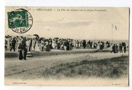Ref 201 - PARIS-PLAGE - La Fête Des Enfants Sur La Digue-promenade (1909) - Le Touquet