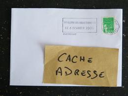 PARTHENAY - DEUX SEVRES - FLAMME 19e BOURSE DES COLLECTIONNEURS 2000 SUR MARIANNE LUQUET - Marcophilie (Lettres)