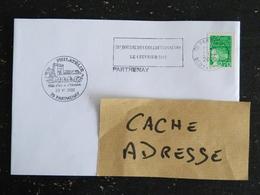 PARTHENAY - DEUX SEVRES - FLAMME 20e BOURSE DES COLLECTIONNEURS 2001 SUR MARIANNE LUQUET - CACHET PHILATELIQUE - Marcophilie (Lettres)
