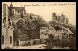 49 - Montreuil-Bellay 46. Montreuil-Bellay (Maine-et-Loire) Porte De Ville Et Fortifications Du Château Montreuil-... #4 - Montreuil Bellay