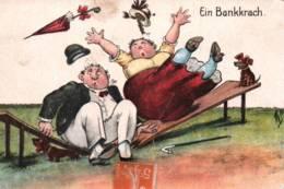CPA - HUMOUR - Illustration W.S. - Thème COUPLE - Edition W.S.S.B. - Humor