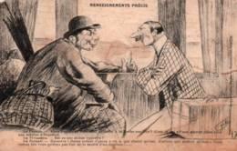 CPA - FANTAISIE - HUMOUR - Illustration H.N. - Thème Paysannerie … - Edition Artaud Nozais (décor Compartiment De Train) - Humour