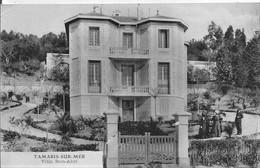 83 TAMARIS SUR MER VILLA BON ABRI Avec Les Propriétaires  Circulée Le 5 Janvier 1907 - Tamaris