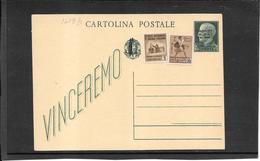 ITALIA ,Rep.Sociale, 1944 Vinceremo 25 Ct. Con Fascetto  ( Ref 1473b ) - 4. 1944-45 Repubblica Sociale