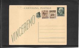 ITALIA ,Rep.Sociale, 1944 Vinceremo 25 Ct. Con Fascetto(fascio Rotto)  ( Ref 1473c ) - 4. 1944-45 Repubblica Sociale