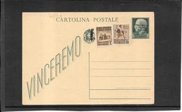 ITALIA ,Rep.Sociale, 1944 Vinceremo 25 Ct. Con Fascetto  ( Ref 1473a ) - 4. 1944-45 Repubblica Sociale