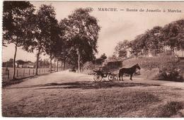 MARCHE ROUTE DE JEMELLE ATTELAGE - Marche-en-Famenne